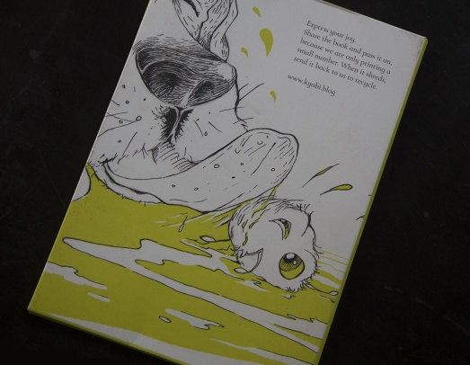 Book Sleeve Front - Kyo and Obi. Express your joy. Read it, share it, pass it on, we are only printing a small number.